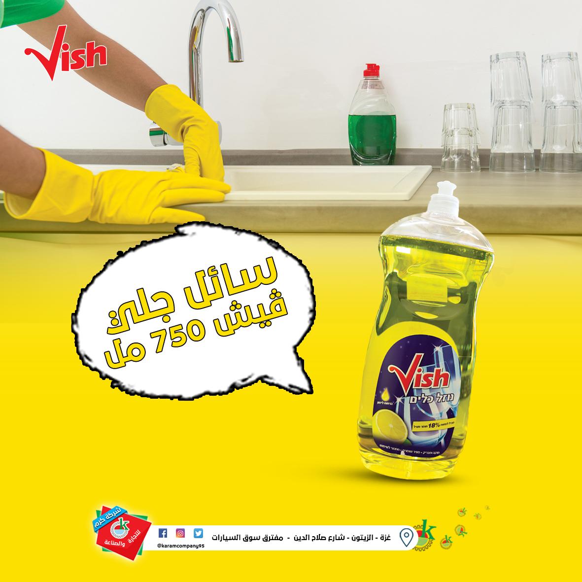 Vish Washing Detergent 750 Ml